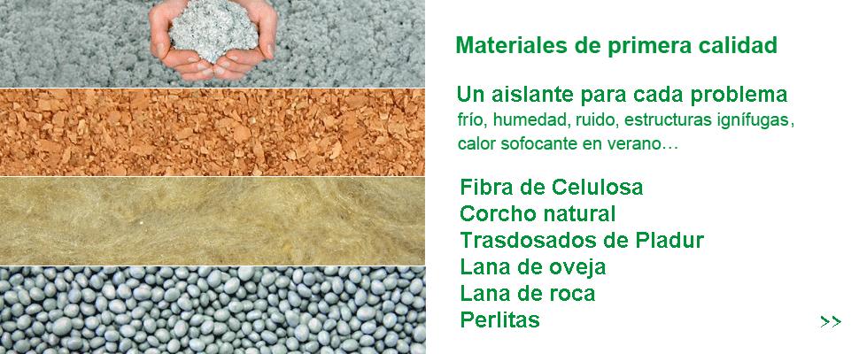 Productos de aisla en verde