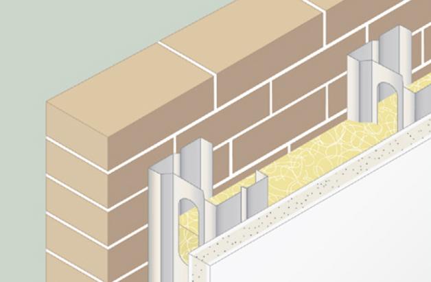 Aisla en verde for Montar pared de pladur